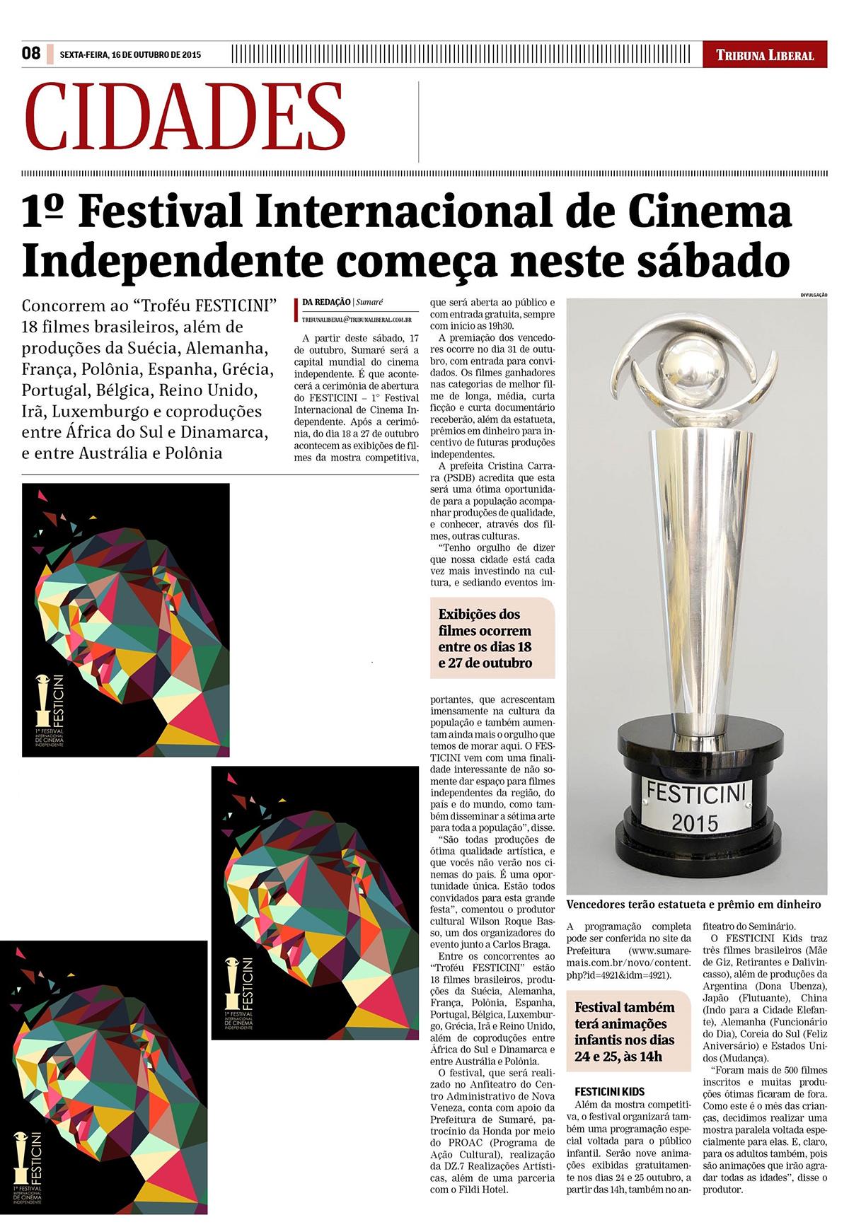 1º Festival Internacional de Cinema Independente começa neste sábado