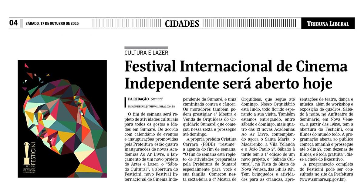 Festival Internacional de Cinema Independente será aberto hoje